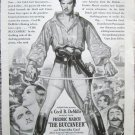 "Vintage 1938 original print magazine ad ""The Buccaneer"""