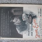 "Vintage 1944 print ad for ""Jane Eyre"""