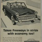 Rare vintage ad Hillman automobile 1957