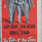 "Vintage color print ad for movie ""The Talk of the Town"""