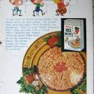 Vintage 1953 Kelloggs Rice Krispies color print ad
