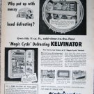 Vintage 1953 Kelvinator refrigerator print ad
