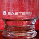 Vintage immaculate Eastern Airlines drink glass
