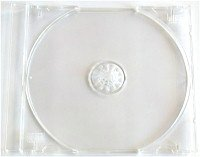 CD Jewel Box w/ Tray (Assembled, Clear Tray) - 100 qty
