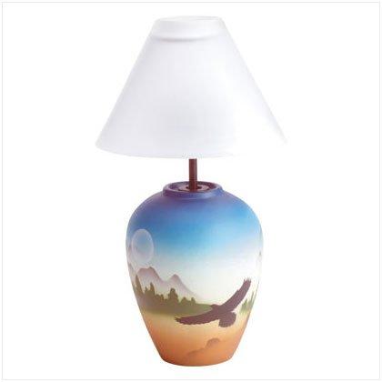 santa fe candle lamp  34742