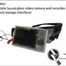 MP4 style secret glass video camera nd recorder set (SD card storage interface) - VG-MP01