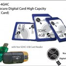 4GB Secure Digital Card High Capcity (SDHC Card) - MS-KI-4GHC