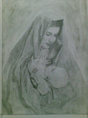 Mother Maru & Baby Jesus