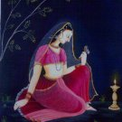Ragini with Lamp