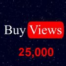 Youtube Views Video View Unique and Guaranteed. 25,000 views