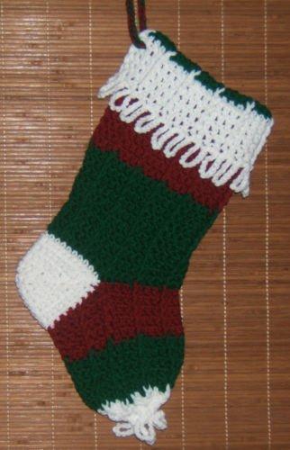 Lovely Variety of Crochet Christmas Stockings (Handmade Crochet)