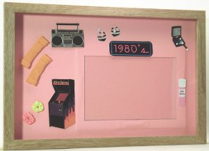 The 80's Picture/Photo Frame 3202