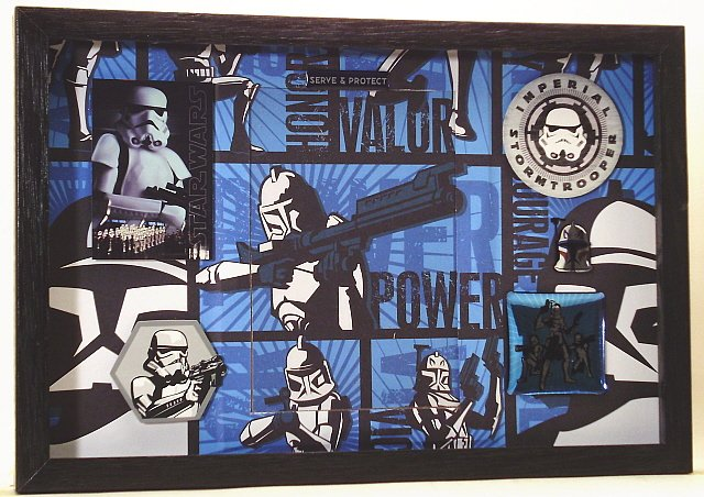 Movie Themed Picture Frame 3323 Trooper
