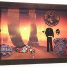 Chopper Motorcycle theme Picture/Photo Frame 4113
