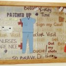 Scrub Nurse Picture/Photo Frame 7186