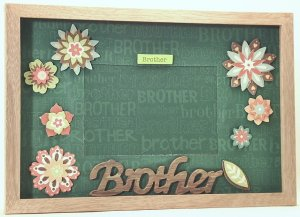 Brother Picture/Photo Frame 3517