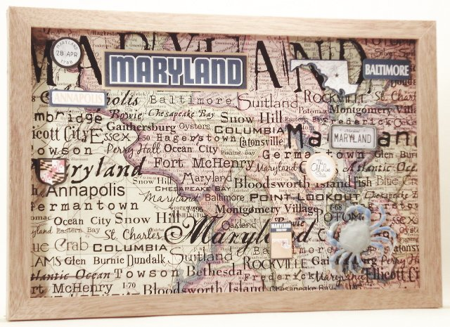 Maryland Picture/Photo Frame 11-302