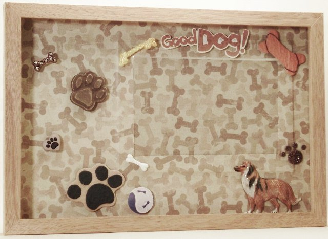 Collie Picture/Photo Frame 9233