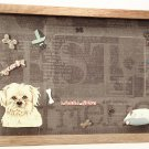 Lhasa Apso Picture/Photo Frame 9070
