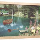 Canoeing Picture/Photo Frame 8112