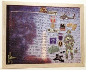 Vietnam Memorial 5x7 Picture/Photo Frame 6095