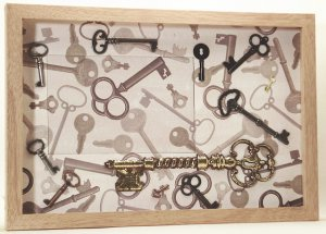Keys Picture/Photo Frame 3295