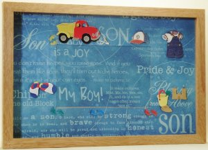 Son Picture/Photo Frame 3546