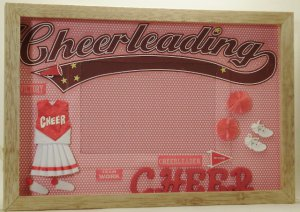 Cheerleader-Red Picture/Photo Frame 10-641