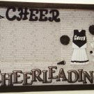 Cheerleader-Black Picture/Photo Frame 10-634