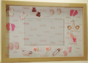 Twin Girls Picture/Photo Frame 1075