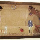 Equestrian Picture/Photo Frame 10-666