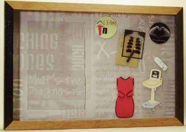 X-Ray Picture/Photo Frame 7227