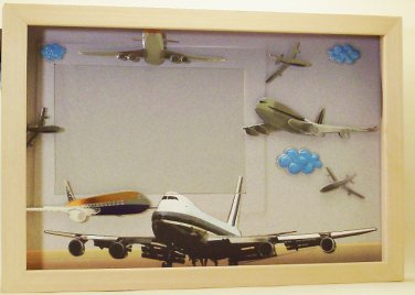 Airplane Picture/Photo Frame 19-009