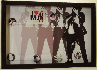 King of Pop Picture/Photo Frame 3490
