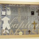 Baptism/Christening Boy Picture/Photo Frame 24-004
