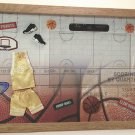 Basketball-Yellow Picture/Photo Frame 10-239