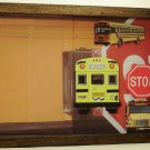 School Bus Picture/Photo Frame 7240