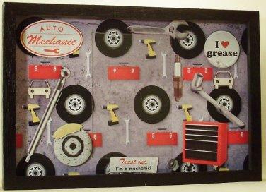 Auto Mechanic Picture/Photo Frame 7247