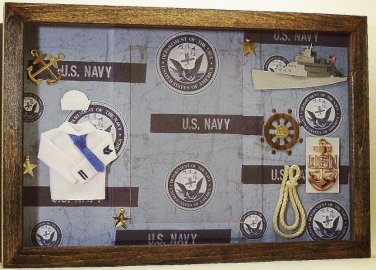 Navy 4x6 Picture/Photo Frame 6123