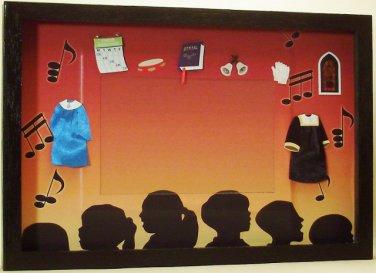 Choir Picture/Photo Frame 3454