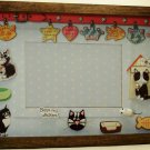Tuxedo Cat Picture/Photo Frame 25-009