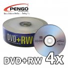 25 PK PENGO DVD+RW 4X Blank Disc For Video & Data