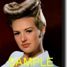 16X20 BETTY GRABLE RARE COLOR VINTAGE PHOTO PRINT