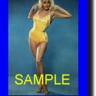 16X20 JANE MANSFIELD RARE COLOR VIBTAGE PHOTO PRINT