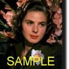 8X10 INGRID BERGMAN RARE COLOR VINTAGE PHOTO PRINT