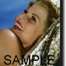 8X10 RITA HAYWORTH RARE COLOR VINTAGE PHOTO PRINT
