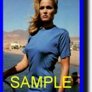 8X10 URSULA ANDRESS RARE COLOR VINTAGE PHOTO PRINT