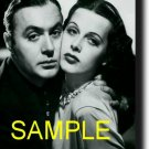 8X10 CHARLES BOYER AND HEDY LAMARR 1938 RARE VINTAGE PHOTO PRINT