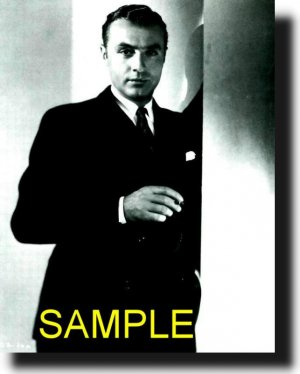 8X10 CHARLES BOYER 1939 RARE VINTAGE PHOTO PRINT