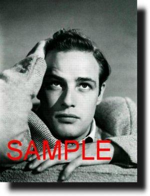 8X10 MARLON BRANDO 1949 RARE VINTAGE PHOTO PRINT